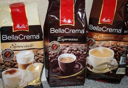 [Lidl] Melitta Bella Crema Espresso, La Crema, Speciale + DVD kostenlos!  1kg für 7,99