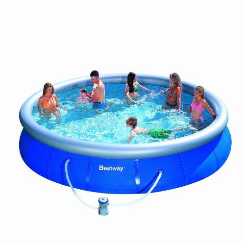 Wieder da - Bestway Fast Pool-Set 457 x 91cm mit Filterpumpe für nur 65,80€ inkl. Versand bei Amazon (Idealo: 125€) - Ersparnis: 60€