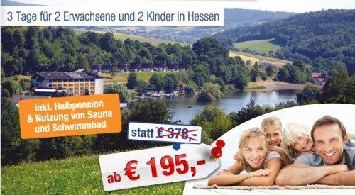 Familienurlaub im SeePark Resort Kirchheim ab €195