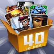 40 in 1 Gamebox für [iOS] Kostenlos