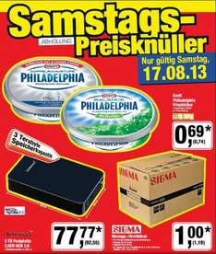 [Metro] Umzugs-/ Archivbox von Sigma | 30kg belastbar | für 1,19€ am 17.08.