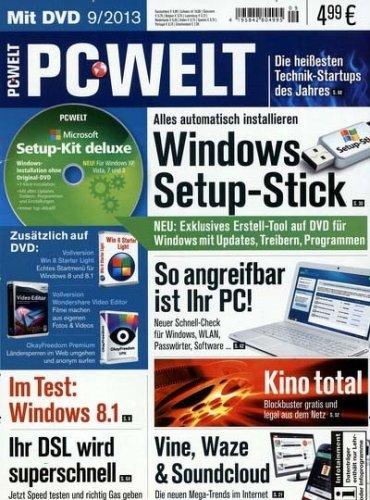 Halbjahresabonnement: 6x PC Welt mit DVD für effektiv 4,95€ durch Bestchoice Gutschein