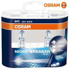 OSRAM 64150NBP H1 Night Breaker Plus 2er Box (Amazon Prime)