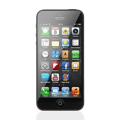 Apple iPhone 5 16GB in schwarz für nur 499,94 EUR inkl. Versand [B-Ware (Verpackung leicht eingrissen)/24 Monate Gewährleistung]