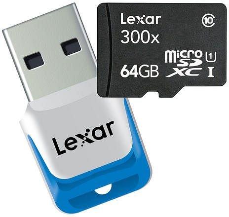 Lexar microSDXC 64GB UHS-I für nur 53,60 EUR inkl. Versand