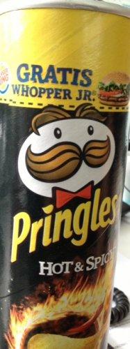 Pringles + Gratis Whopper Jr. bei Burger King