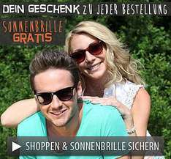 Bei FASHION5 für 25€ oder mehr bestellen und kostenlose Sonnenbrille im Wert von 9,95€ gratis on top erhalten