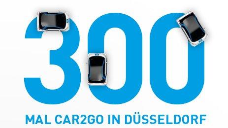 Kostenlose Anmeldung für car2go (in Düsseldorf)