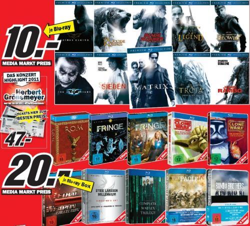 Media Markt (Berlin Brandenburg) Blu Ray's und Blu Ray Boxen [zb. The Pacific für 20,-]