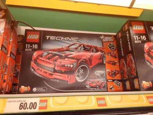 [Lokal?] Dresden Marktkauf Lego 8070 Super Car