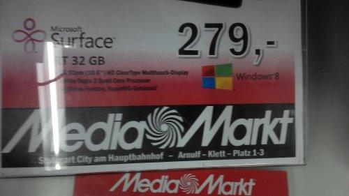 [Lokal Stuttgart] Surface RT 32GB