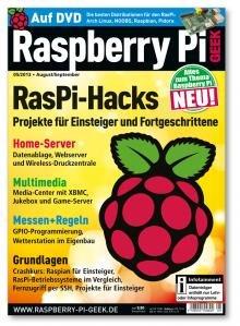 "Erstes Raspberry Magazin ""Raspberry Pi Geek"" als PDF"