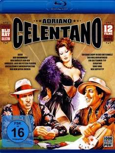[Amazon] 12 x Adriano Celentano Klassiker (BluRay)