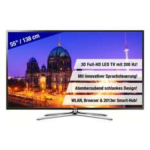 Samsung UE55F6470 55 Zoll 3D FullHD LED TV für 899€