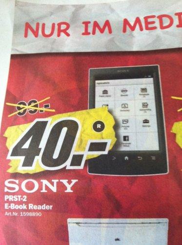 Lokal Hamburg Mediamarkt Nedderfeld - Sony Ebookreader PRS-T2