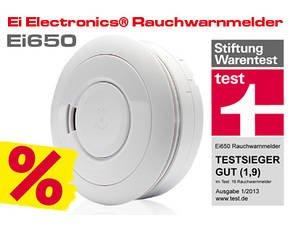 Ei Electronics Stand-alone Rauchwarnmelder Ei650 weiß für 19,99 € @ MP OHA