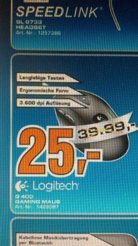 [Lokal] Logitech G400 Gaming Maus [Saturn Bocholt]