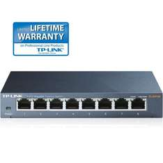 TP-LINK TL-SG108 - Switch - 8 x 10/100/1000 für 21€ @Amazon