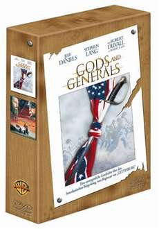 Gettysburg / Gods and Generals [2 DVDs] für 13€ @Amazon
