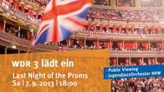 "[Dortmund] Das Jugend Jazz Orchester NRW und Public Viewing der ""Last Night of the Proms"" aus London"