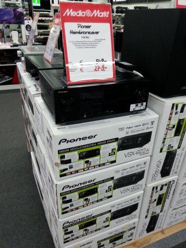 [Lokal] Mediamarkt Wuppertal: Heimkino Receiver Pioneer VSX-922