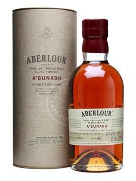 Wieder da: Aberlour A'Bunadh - 2 Flaschen für 76,16 € inkl. Versandkosten (38,08 € pro Flasche)