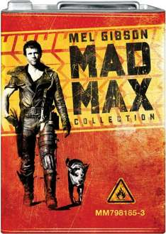 Blu-ray Box - Mad Max Collection (Limited Petrol Can Edition) für €24,69 [@Amazon.es]