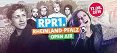 [Mainz] 17.08.13 RPR1.RKP Open Air - Gratis zu Mc Fitti / Sunrise Avenue / Silbermond u.a.