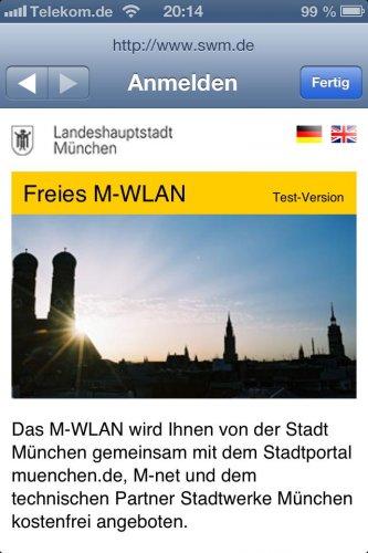 WLAN kostenlos in München