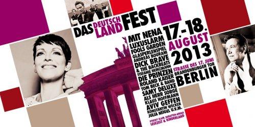 [BERLIN] Deutschland-Fest 17./18.8.2013