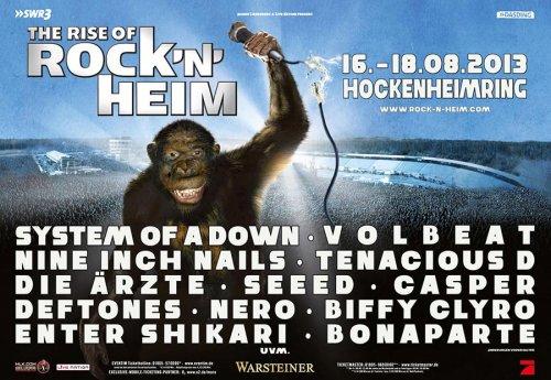 The Rise of Rock'n'Heim live vom Festival mit System of a Down,Tenacious D,Franz Ferdinand auf Arte Live Web