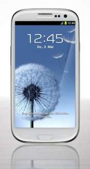 Samsung Galaxy S3 white bei Amazon ab 339,--