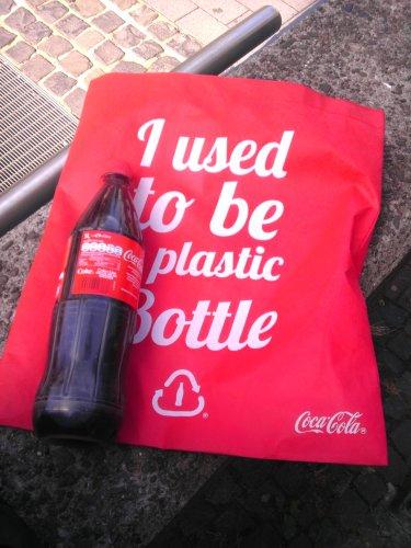 Coca Cola gratis am Hbf Bochum