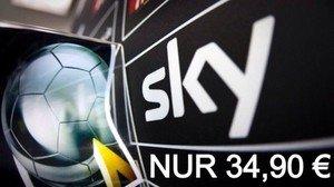 Sky Komplett für 34,90€ Mon./inklusive Film/Buli/Sport HD-HD+ & Festplatten Rec.