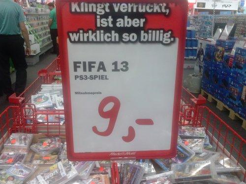 [MM Köln] Fifa 13 für 9 euro - nur PS3