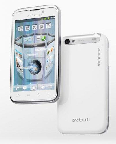 ALCATEL One Touch Ultra 995 Pure White [MM Rausverkauf]