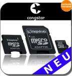 8GB Kingston Micro SDHC class 4 + 2x Adapter & Prepaid-Karte mit 10 Euro Guthaben