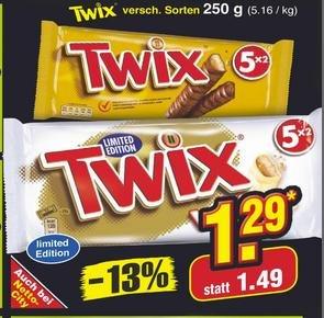 Netto Marken-Discount: TWIX white 5er Pack für 1,29€