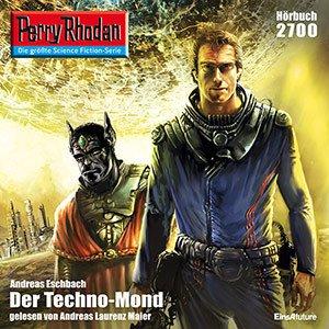 Hörbuch Perry Rhodan 2700 Techno-Mond, 4 1/2 h, mp3 ohne DRM plus eine audible Version