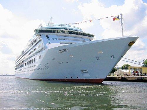 """Hammer oder Preisfehler: 91-Nächte-Kreuzfahrt an Bord der 'Aurora' von Southampton bis Cape Town für £1.609, Start 4.1.14. Macht 21€/Tag inkl. """"Vollpension"""". Über OpodoUK"""