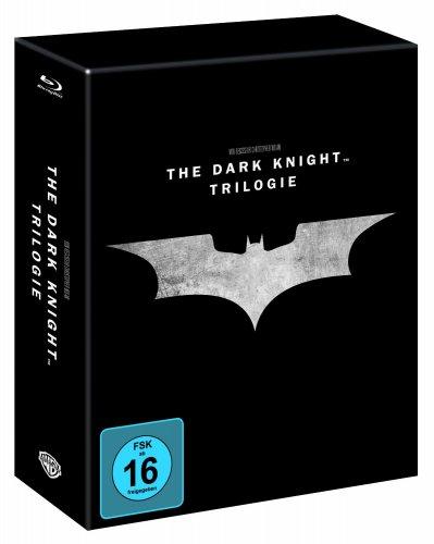 [BLU-RAY] The Dark Knight Trilogy Steelbook @ Amazon.de für 39,97 EUR
