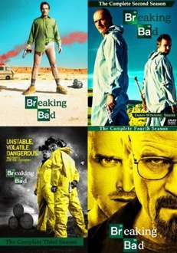 Breaking Bad 1-4 DVD für ca. 44 EUR ink. Versand