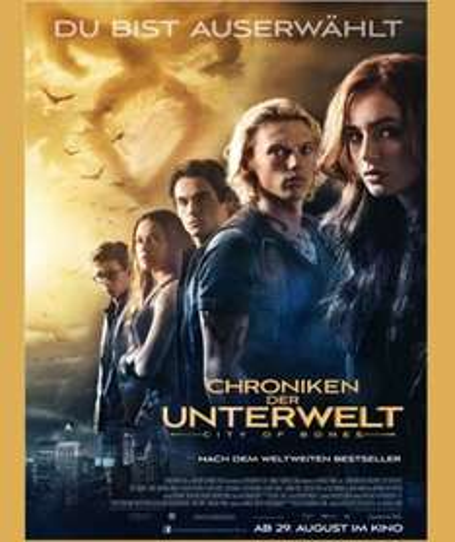 """[Kino] Karten für """"Chroniken der Unterwelt - City of Bones"""" am 28.08.2013"""