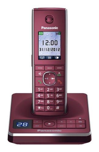 Panasonic KX-TG8561GR in Weinrot für nur 39,90 EUR inkl. Versand