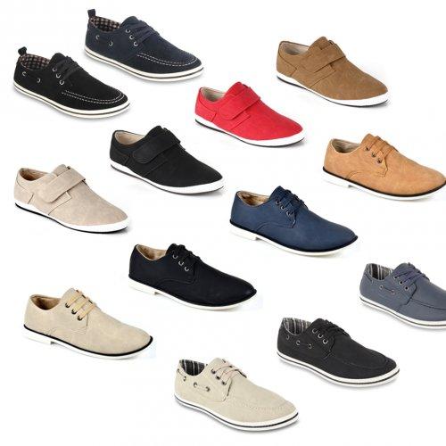 ebay WOW Herren Sneakers Casual 6 Modelle Sportliche Halbschuhe für 16,90€