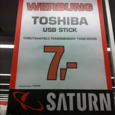 [Media Markt Bochum?] Toshiba USB Stick 16 GB