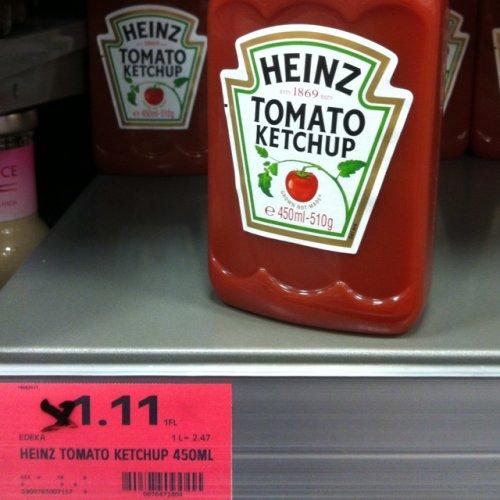 [Lokal EDEKA Tamm?] Heinz Tomato Ketchup 450ml für 1,11 EUR