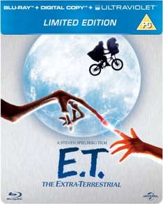 E.T. The Extra-Terrestrial - Limited Edition Steelbook (Includes Digital and UltraViolet Copy) Blu-ray
