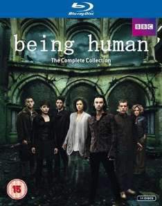 Being Human - Staffeln 1-5 Boxset Blu-ray  @ amazon.uk