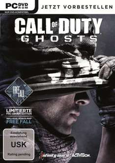 Call of Duty Ghosts STEAM Preorder PC @g2a.com für 36€